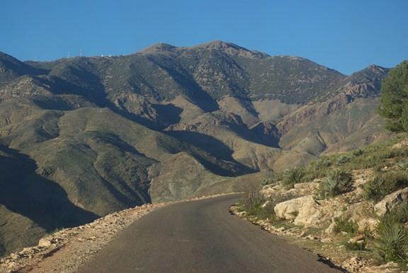 Góry Atlas droga