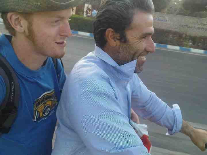 iran autostopem
