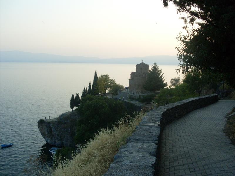 jezioro ohrid macedonia