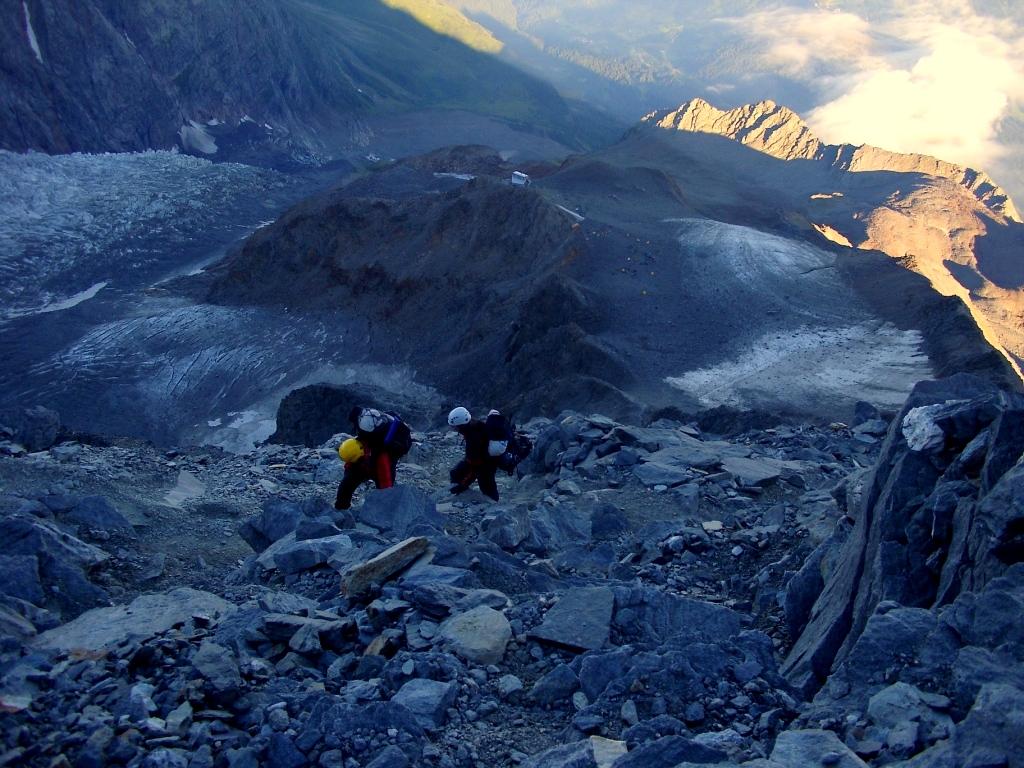 Wspinaczka Mt Blanc