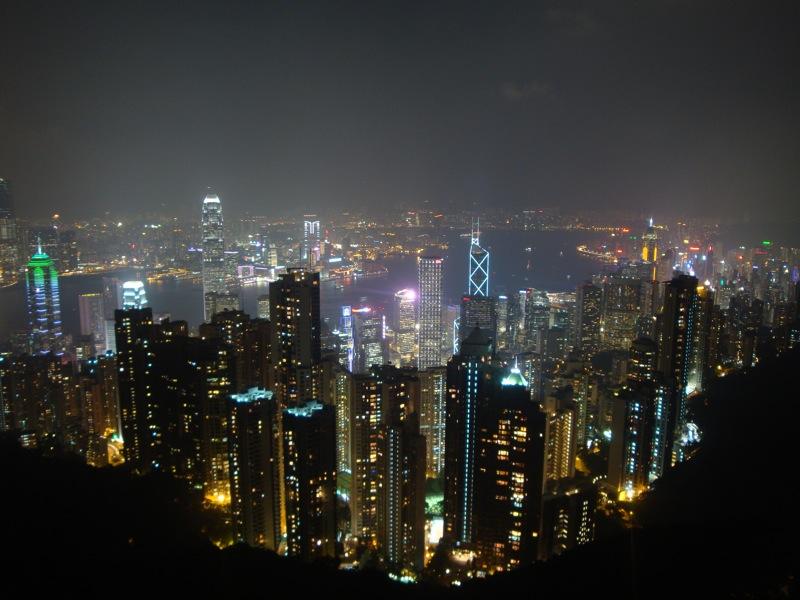 Hong kong widok